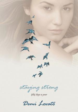 Demi Lovato revela capa de seu livro de autoajuda