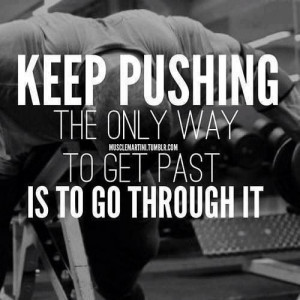 ... , drive, and determination, nothing is impossible fitness quotes