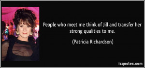 More Patricia Richardson Quotes