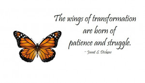 Wings of transformation