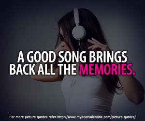 inspirational quotes - A good song brings, 600x500 in 126KB