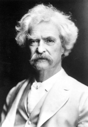 Mark Twain in 1907. Credit: The Mark Twain House & Museum