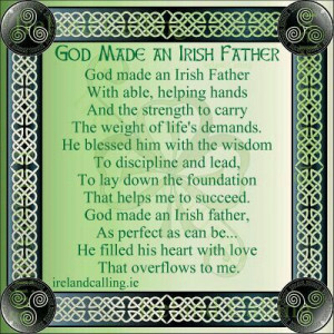 God made an Irish Father