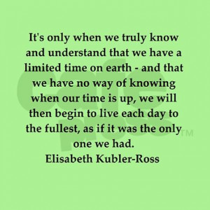 education gifts elisabeth kubler ross quotes greeting card
