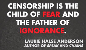 Quote from Laurie Halse Anderson