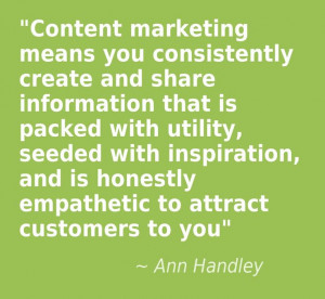... Quote from @Team MarketingProfs Regarding Content Marketing #quality