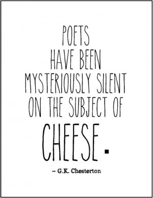 GK Chesterton literary quote typography print funny literature tongue ...