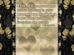 Amazing Best Friend Graphic Quotes HD Wallpaper