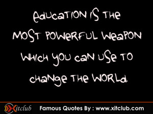 Thread: 15 Most Famous Education Quotes