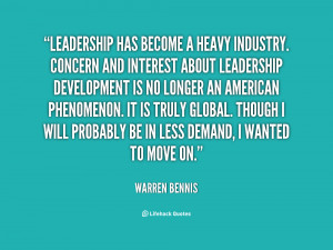 warren bennis quotes the manager has a short range view the leader has ...