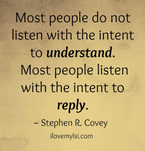 Most people really just want to be heard.