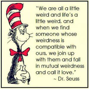 Dr. Seuss quote   The Parody by Sasha Manuel