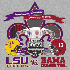 LSU Alabama National Championship #2