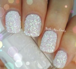 Nails Art, Wedding Nails, Christmas Nails, Winter Wonderland, Sparkle ...