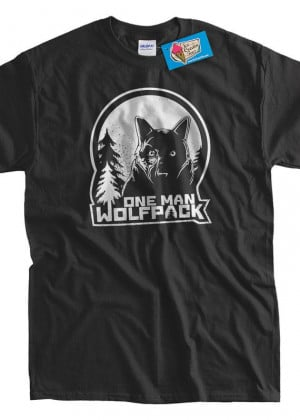 Funny Shirt One man Wolf Pack tShirt the hangover by IceCreamTees, $14 ...