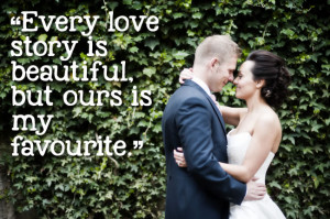 ... magazine › 27 of the most romantic quotes to use in your wedding