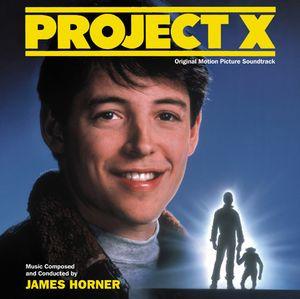 James Horner Project X Original Motion Picture Soundtrack CD