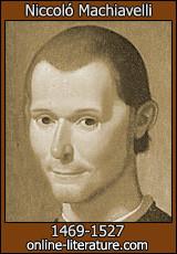 Machiavelli (Please I need help as soon As poosible)