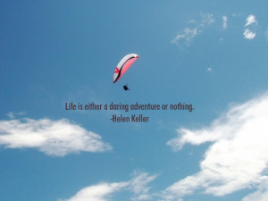 LIFE IS ADVENTURE LIFE QUOTE PICTURE