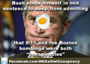Brilliant! Bush Admits Truth to Gov't Behind 911 and More…