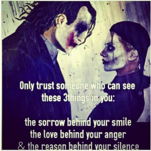 The Joker And Harley Quinn Quote