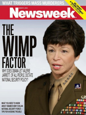 Valerie Jarrett really doesn't like you to disagree with her, oops ...