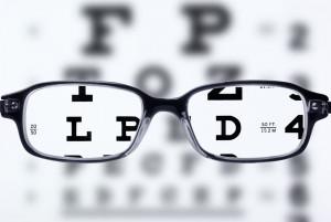 眼镜的视力表图片 [高清图片,JPG格式]
