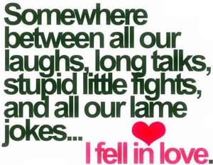 Somewhere True Love Quote