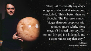 Carl Sagan on religion