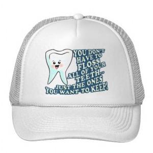 Funny Dentist Dental Hygienist Trucker Hats