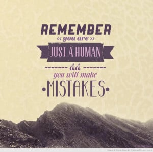 Quotes About Mistakes In The Past From mistakes quotes past