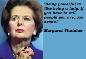 RIP Margaret Thatcher, The Iron Lady