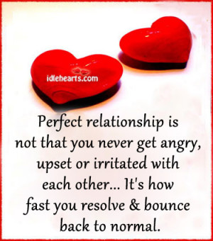 Perfect Relationship Is Not That You Never Get Angry, Angry, Fast ...