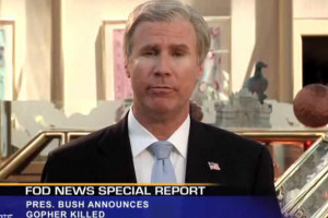 Will Ferrell Spoofs President Bush, bin Laden Death for Funny or Die ...