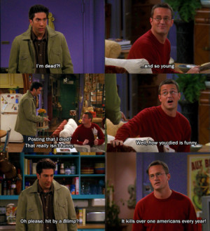 friends tv show quotes chandler ross
