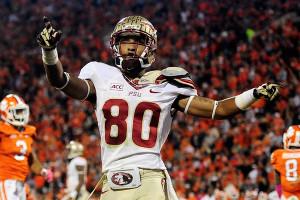 AP Photo/Richard Shiro Rashad Greene is one of three FSU receivers who ...