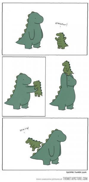 Funny photos funny dinosaur baby cute