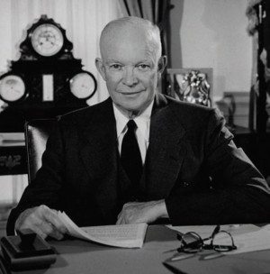 """President Eisenhower on the """"military-industrial complex"""""""