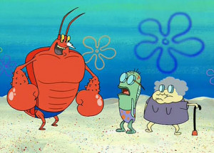 Larry the Lobster wants to beef im finna kick his ass