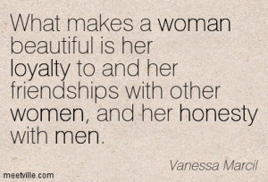 Words of Wisdom ~ Vanessa Marcil