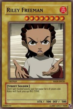Riley Freeman card Image