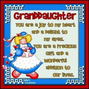 Love my Granddaughter!!!!
