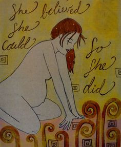 BELIEVE 8 x 10 / inspirational art/ birth art/ by StudioSpiritYSol, $ ...