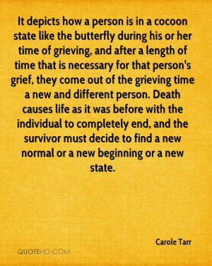 Butterfly Quotes About Death Carole tarr death quotes. 0