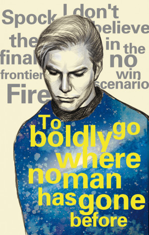 Star trek Kirk and quotes by dosruby
