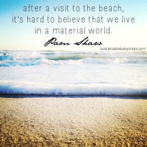 Cute Beach Quotes Environment quotes, green