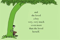 The Giving Tree Quote (with a little Photoshopping) tree tattoos, book ...