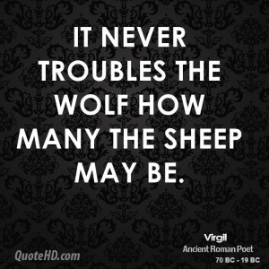 Wolves and Sheep Quote