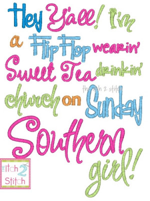 southern girl quotes