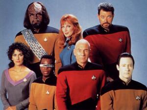 Star Trek The Next Generation Crew - free Star Trek computer desktop ...